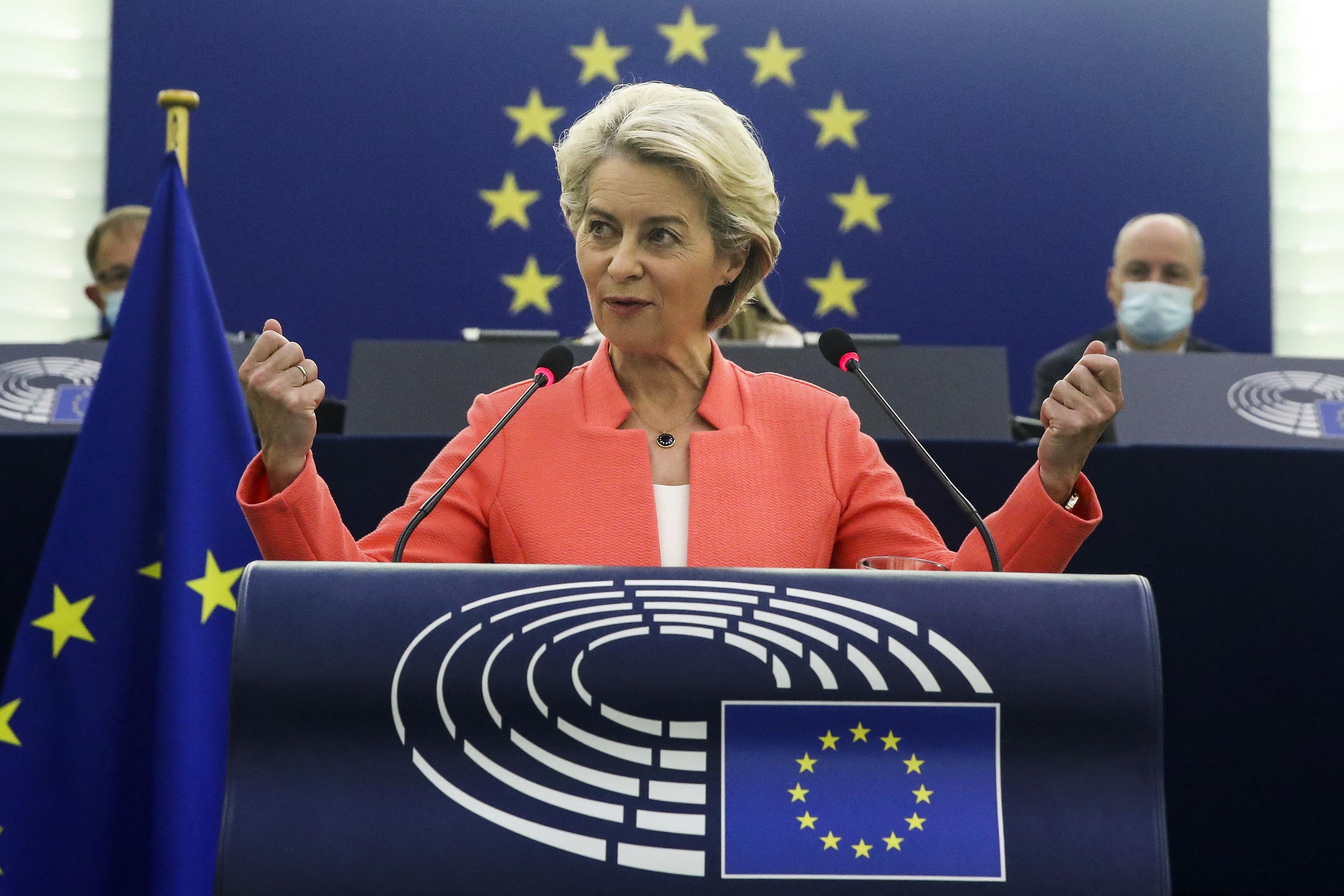 Von der Leyen évértékelője: Tenni kell azért, hogy az EU-s költségvetésből minden centet a jogállami elveket figyelembe véve költsenek el