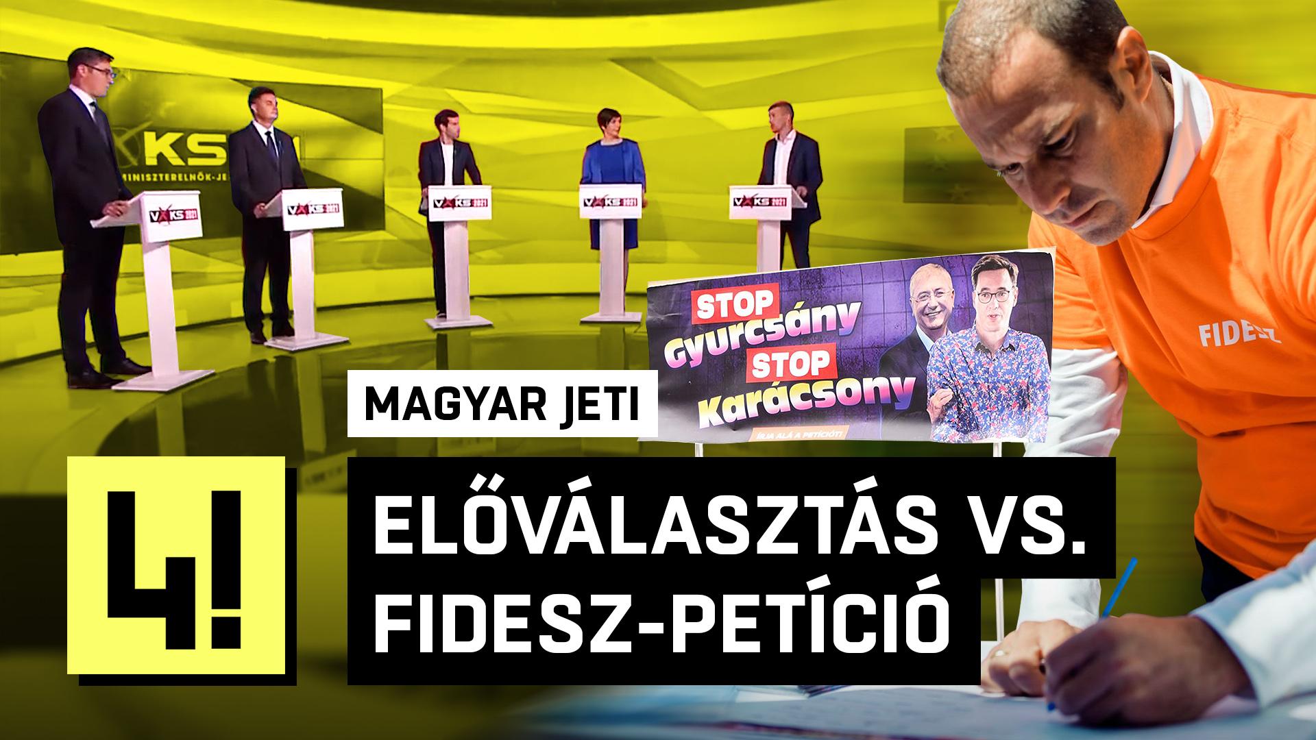 A Fidesz válasza az ellenzéki előválasztásra: STOP!