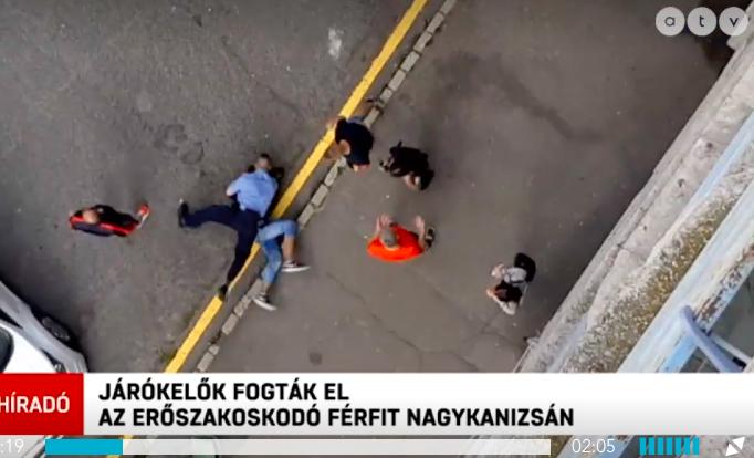 Járókelők vittek földre egy férfit, aki lányokat molesztált egy nagykanizsai lakótelepen