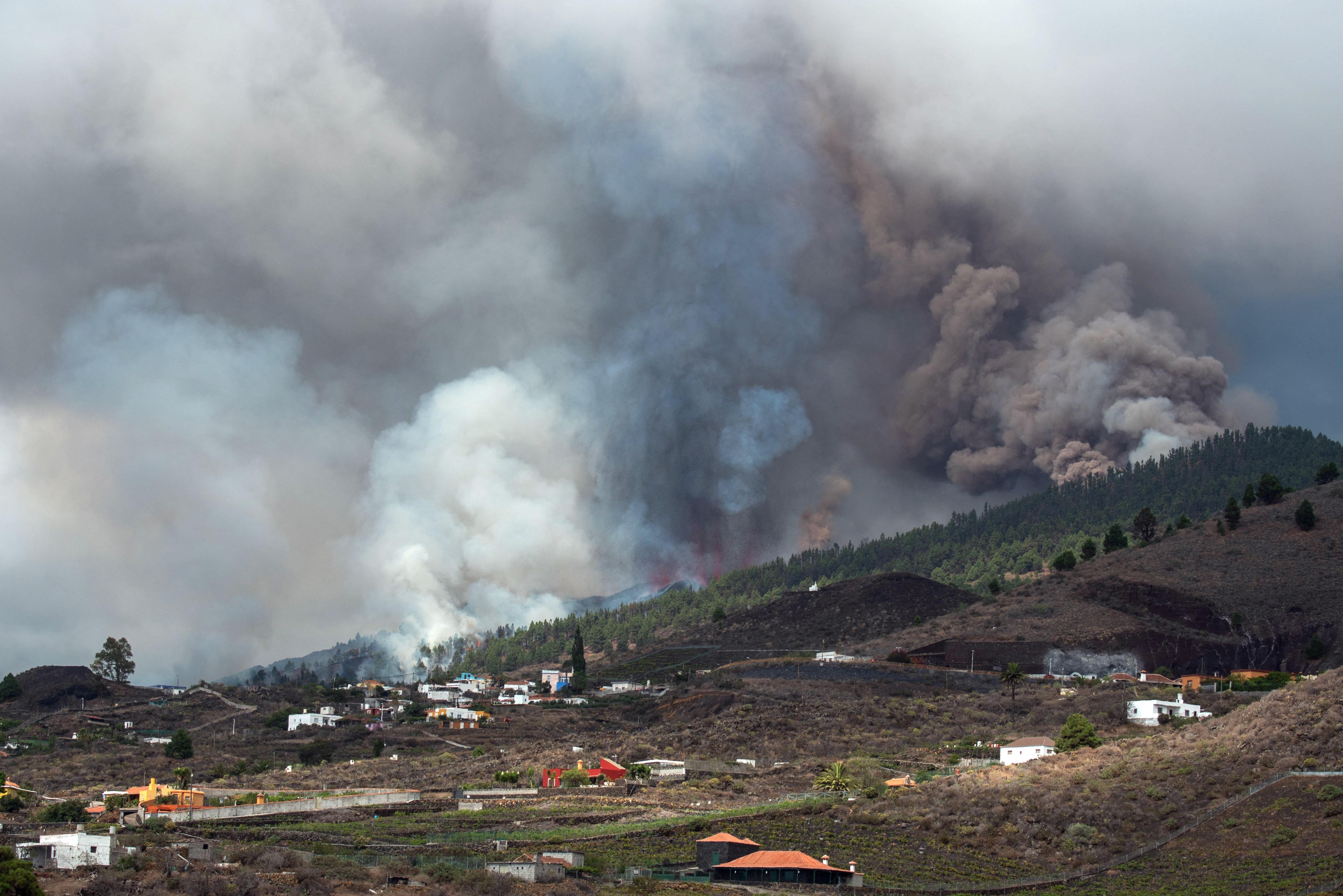 Kitört a Cumbra Vieja vulkán La Palma szigetén