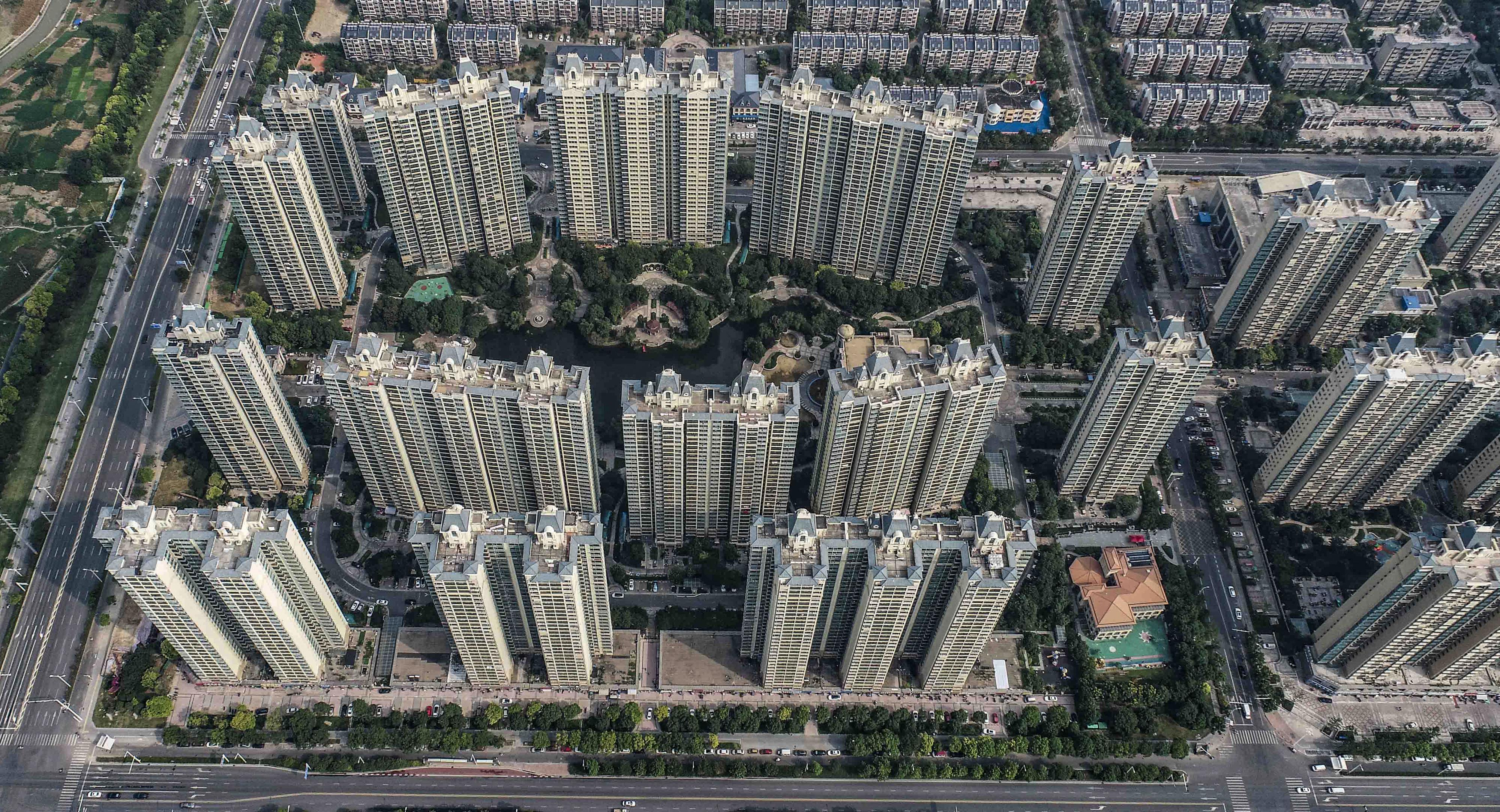 Pukkanás közelében a kínai ingatlanpiaci buborék, és nem lehet megmondani, hogy mekkora válság lesz majd ebből