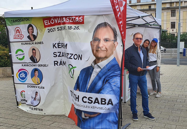 Tóth Csaba visszalép a jelöltségtől