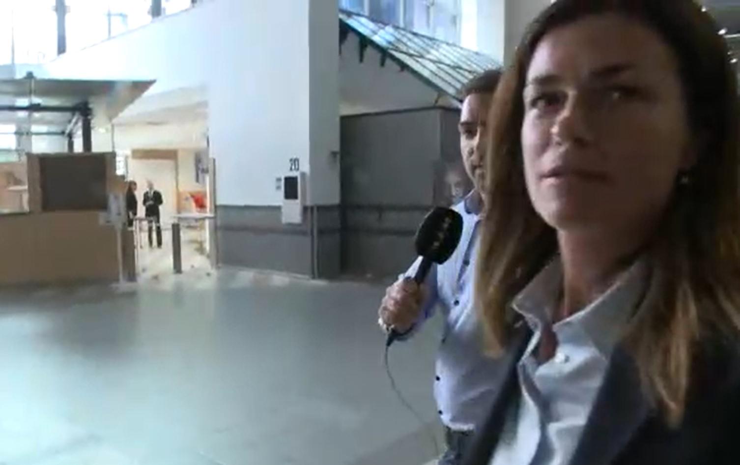 A nagy iszkolás: Varga Judit nem mert válaszolni az RTL Híradónak, amikor a Pegasus-ügyről kérdezték