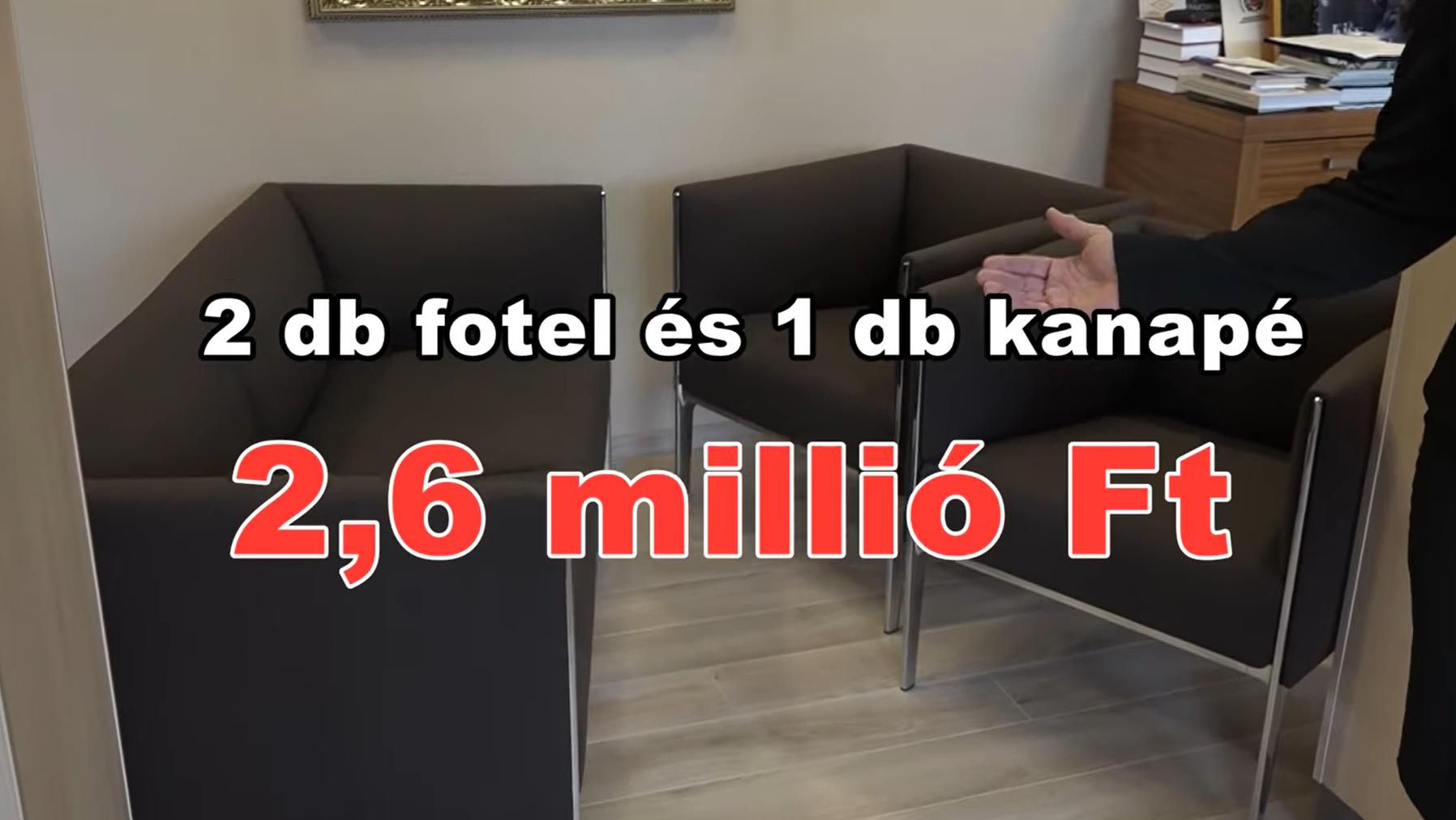 Átviteti az önkormányzat váróterébe a fideszes elődje idején vásárolt drága bútorokat Tatabánya polgármestere