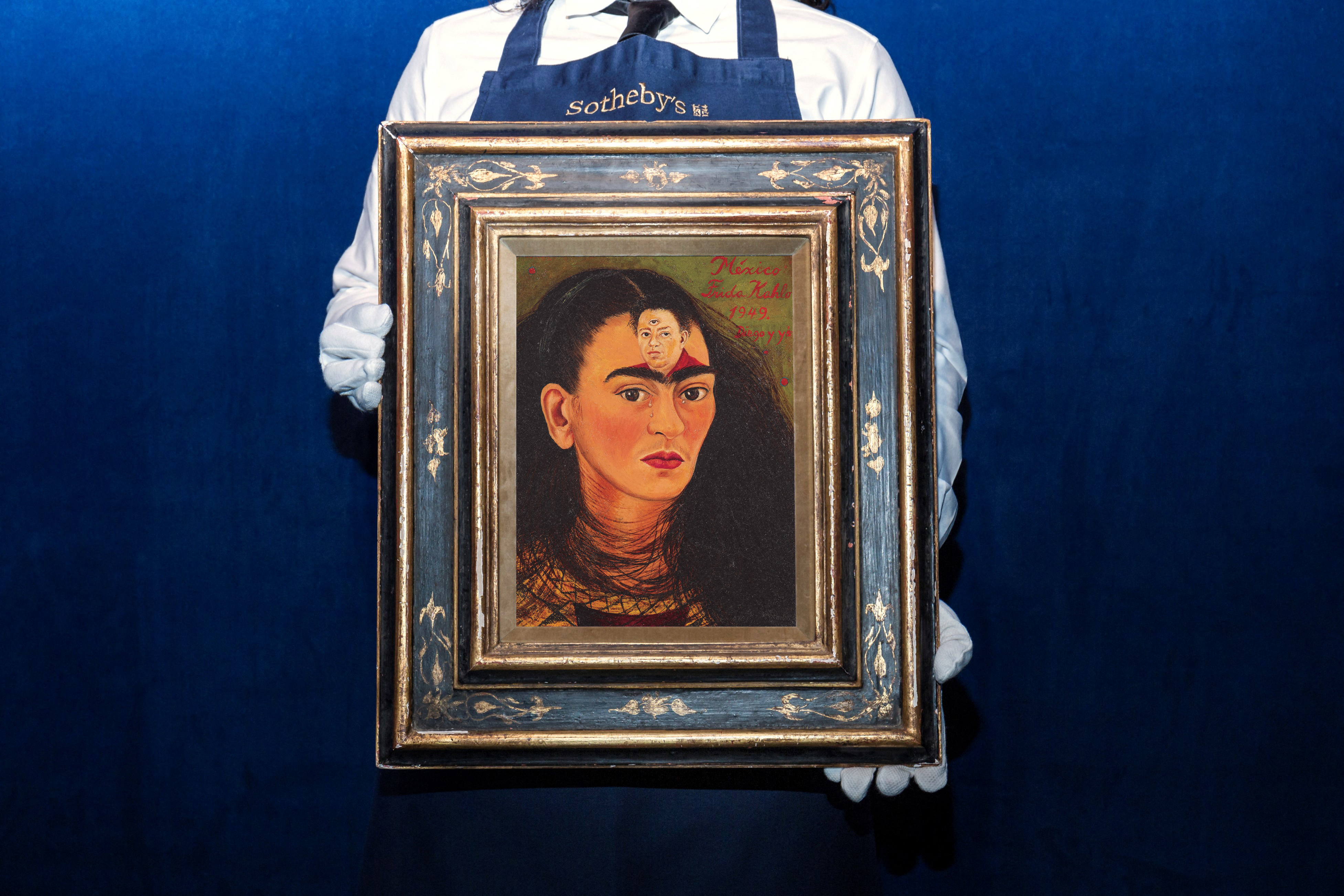 30 millió dollárért mehet el Frida Kahlo önarcképe