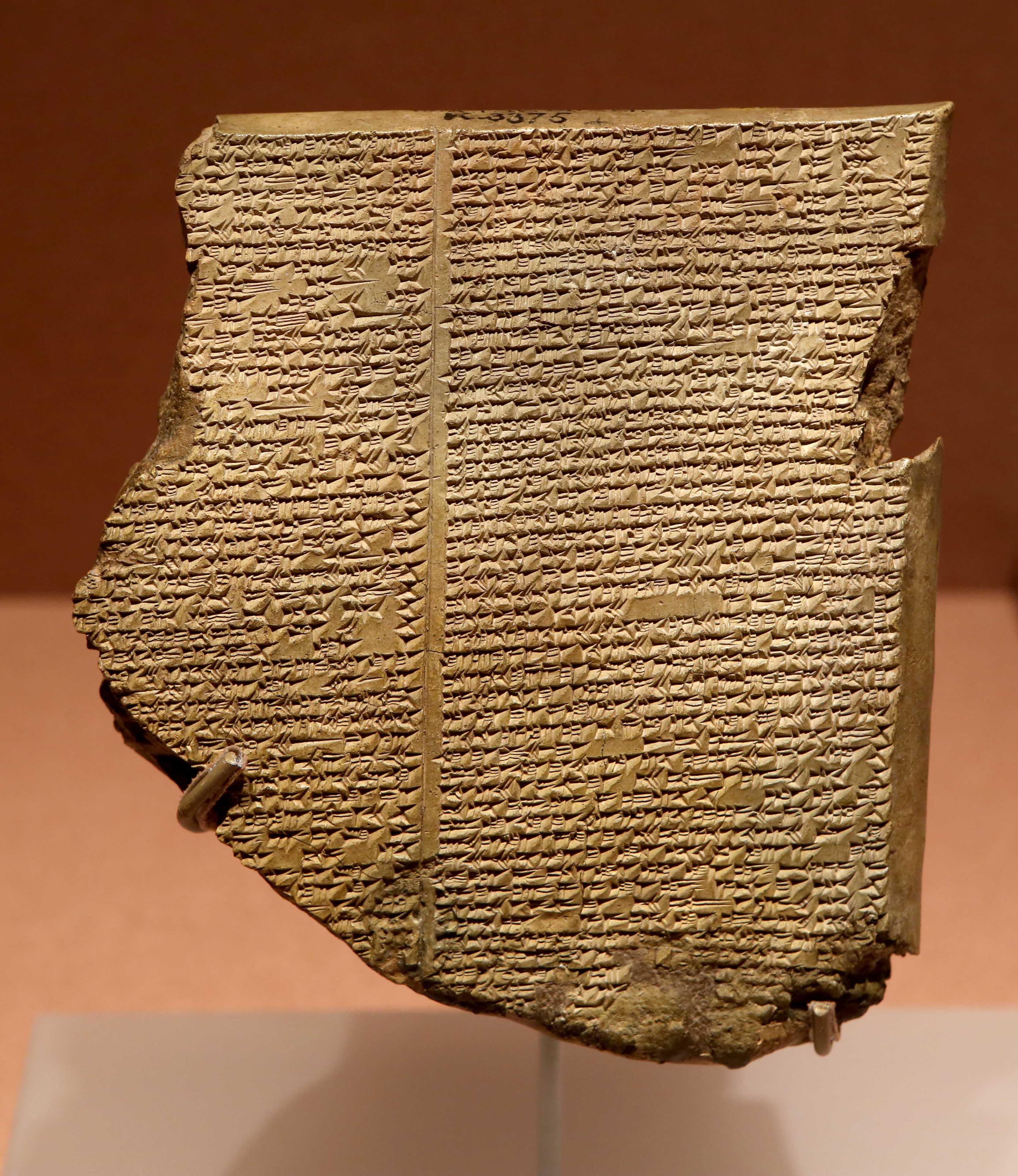 Visszaadta a Gilgames-eposzt Iraknak az Egyesült Államok