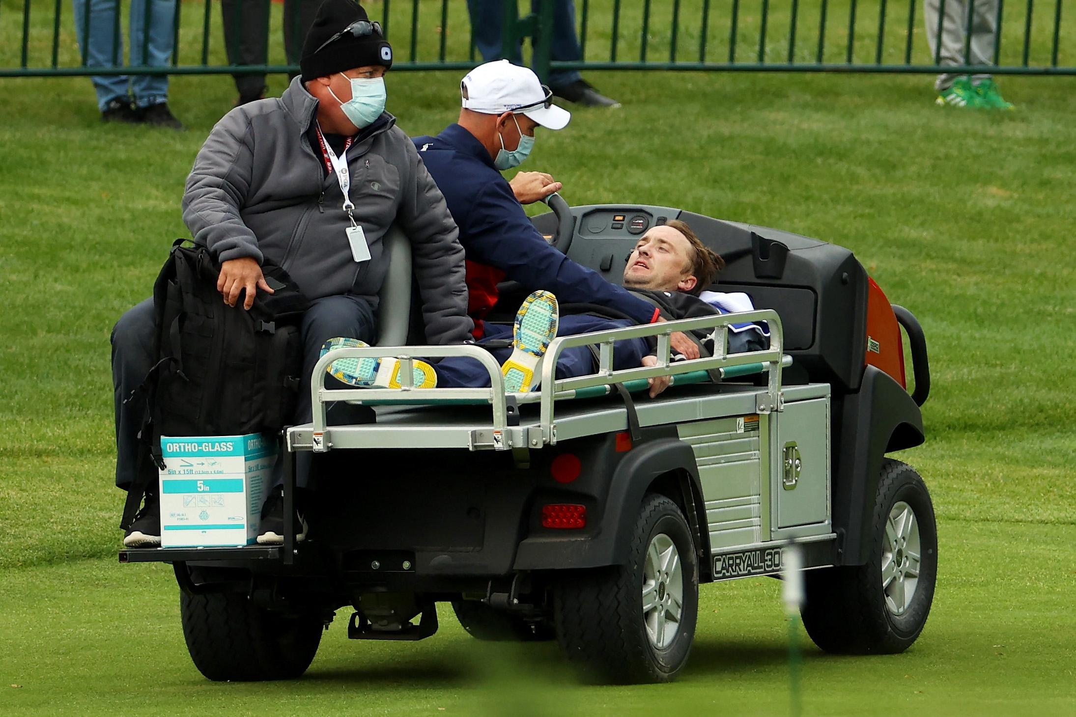 Golfversenyen lett rosszul a Draco Malfoyt alakító színész