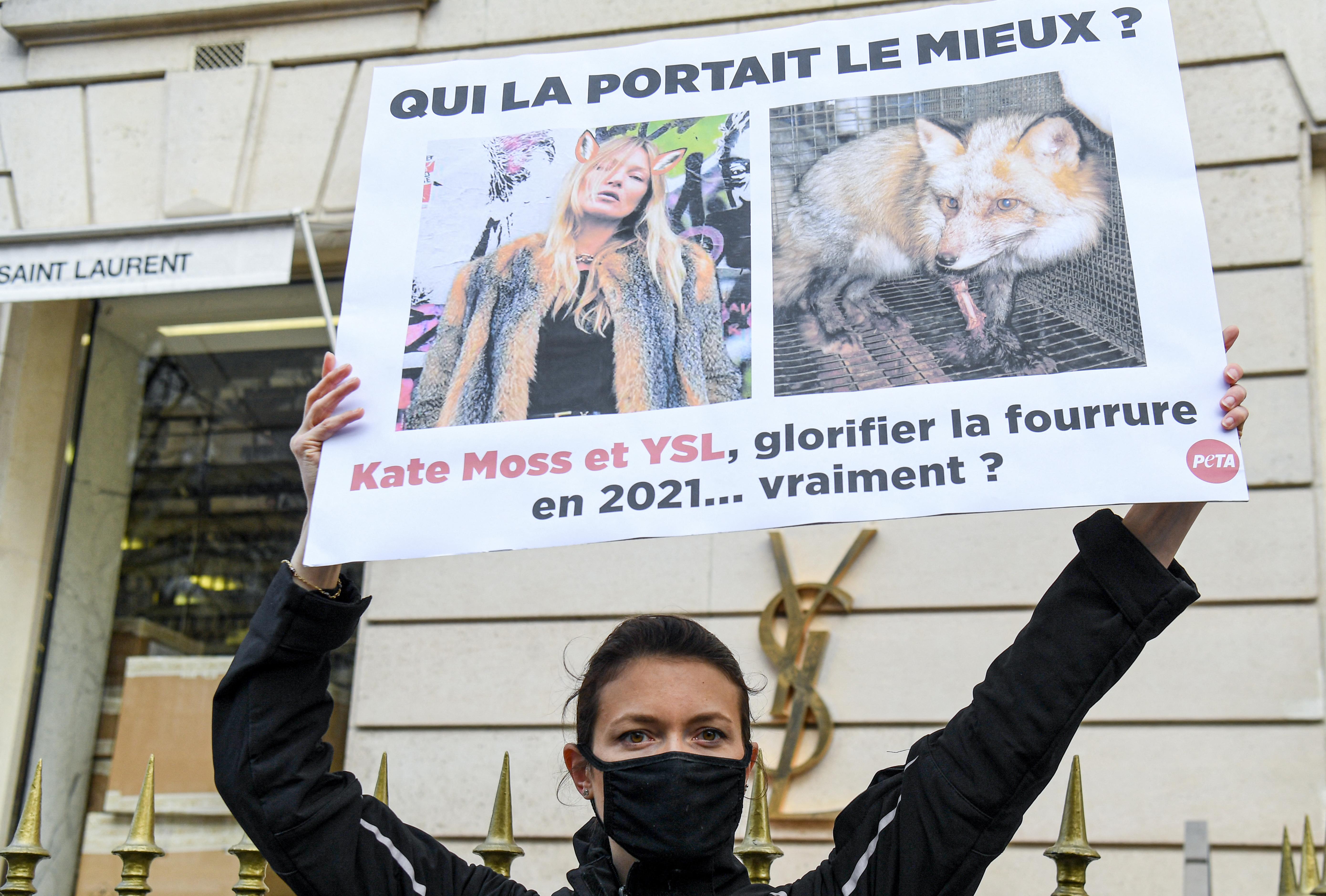 Az Yves Saint Laurent többé nem használ állati szőrmét