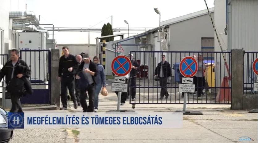 Most főleg azokat rúgják ki a makói Continentaltól, akik részt vettek a  sztrájkokban