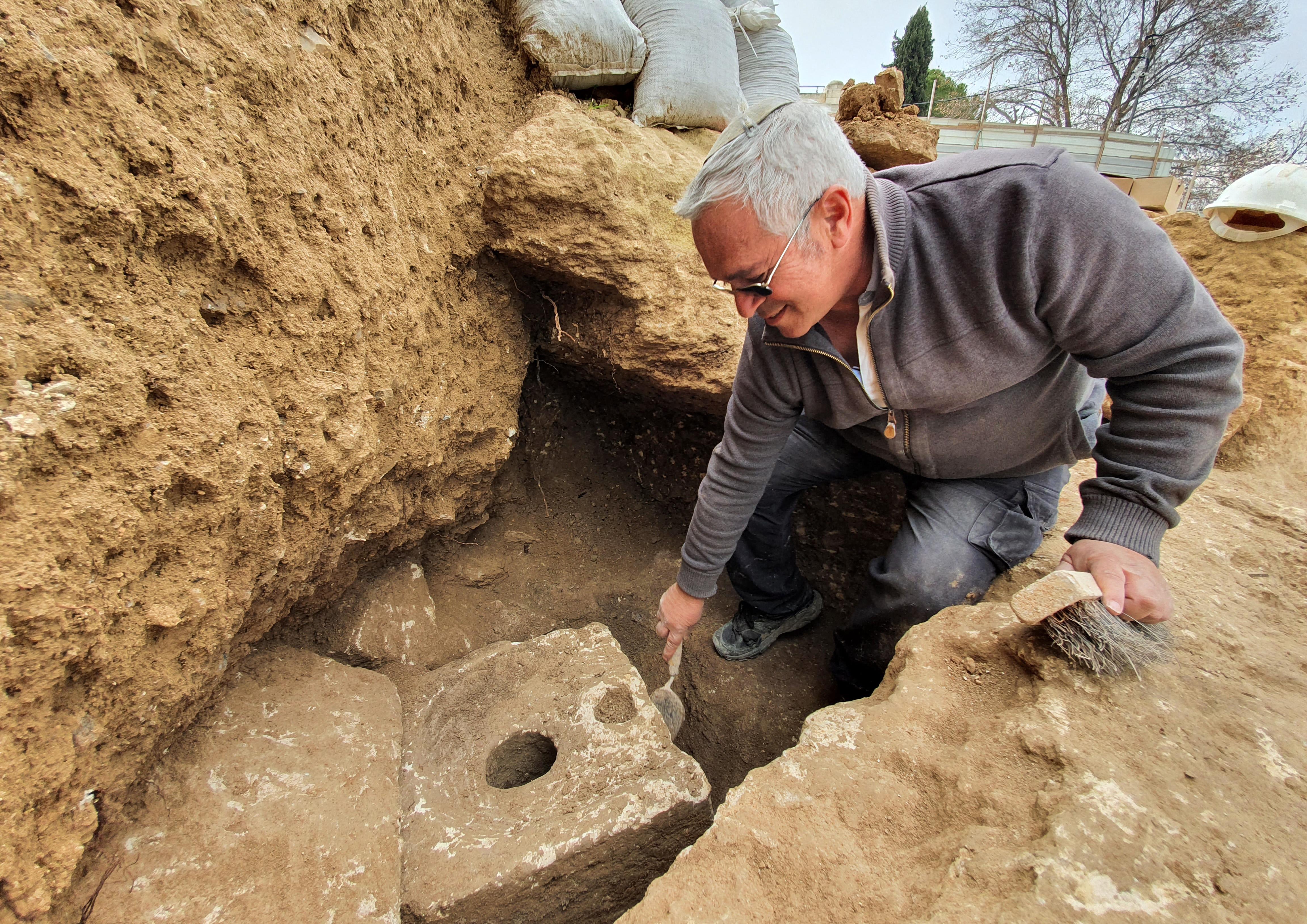2700 éves luxuswc-t találtak Jeruzsálemben