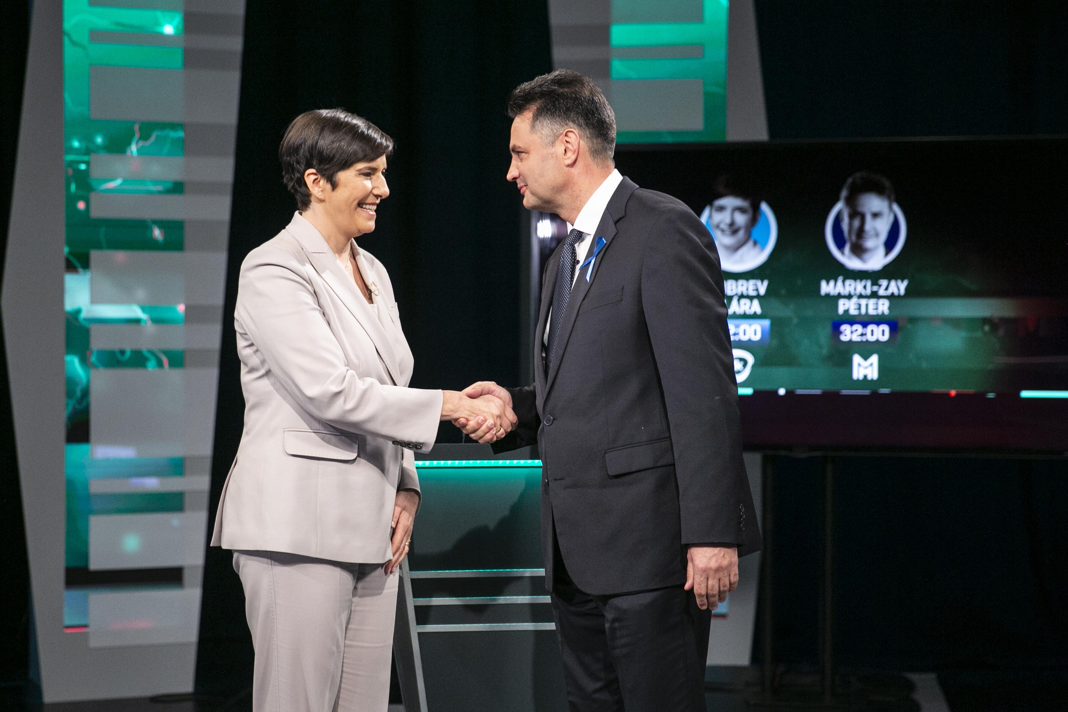 Dobrev–Márki-Zay-vita: Egymásnak mentek azért, hogy ki tudja megvalósítani azt, amiben egyetértenek